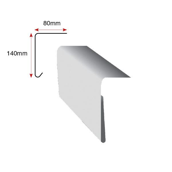 A250 Large Drip Trim 3m