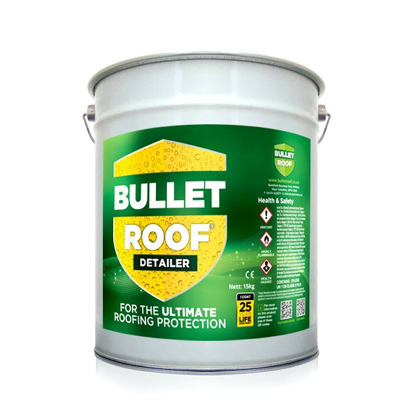 Bullet Roof Detailer Liquid Rubber