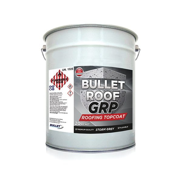 Bullet Roof GRP Roofing Topcoat