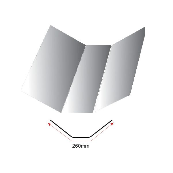 D260 Angle Fillet Trim 3m