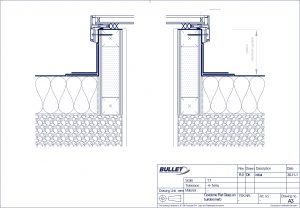 Flat Glass CAD Drawing