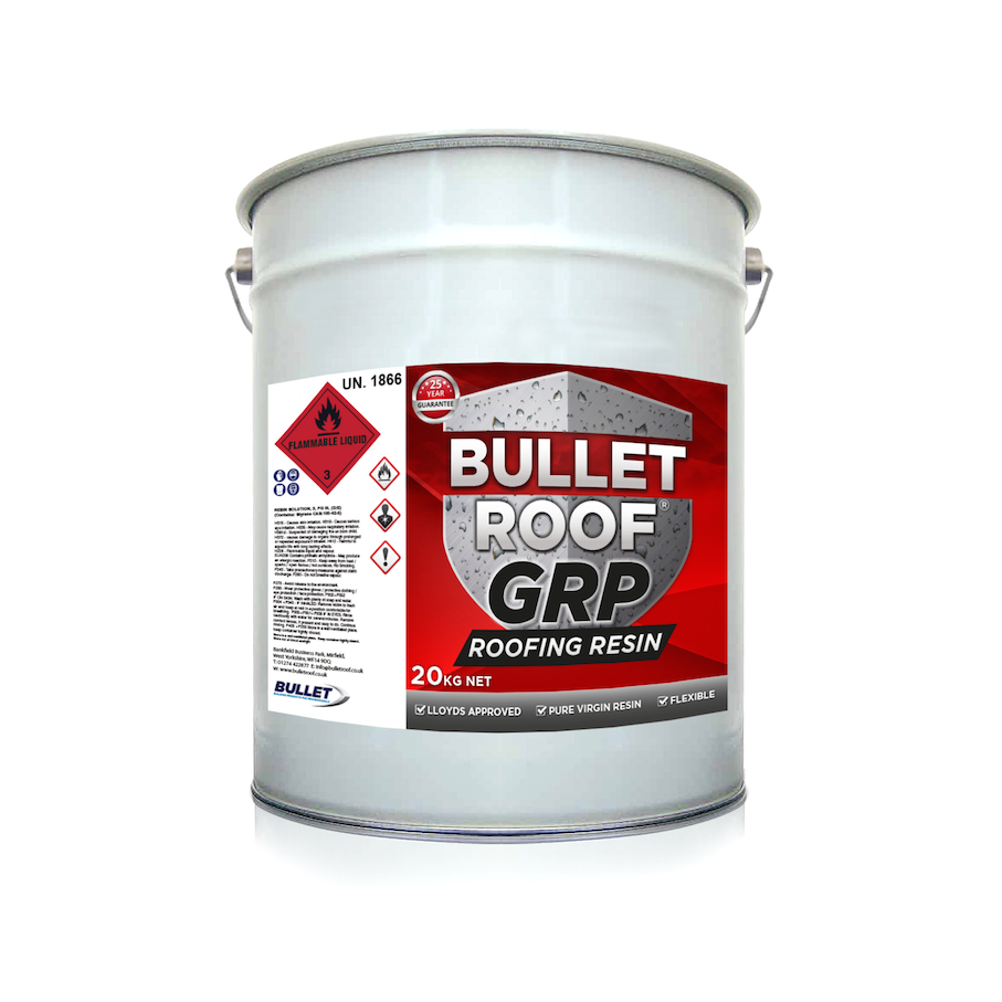 Bullet Roof GRP Roofing Resin