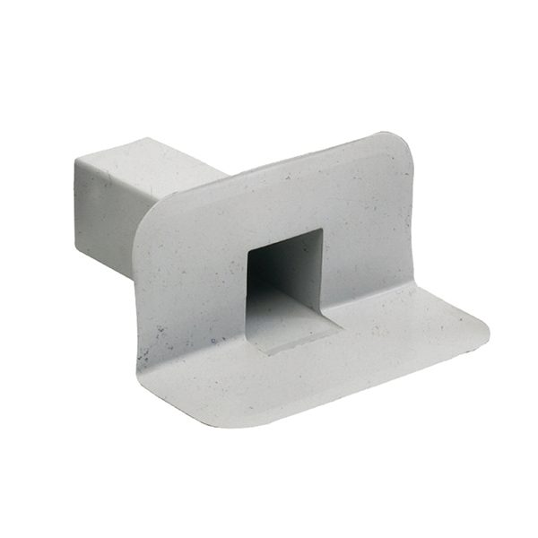 Square Through Wall Roof Drain – PVC