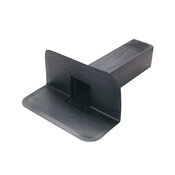 Square Through Wall Roof Drain – EPDM