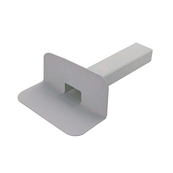 Square Through Wall Roof Drain – TPO