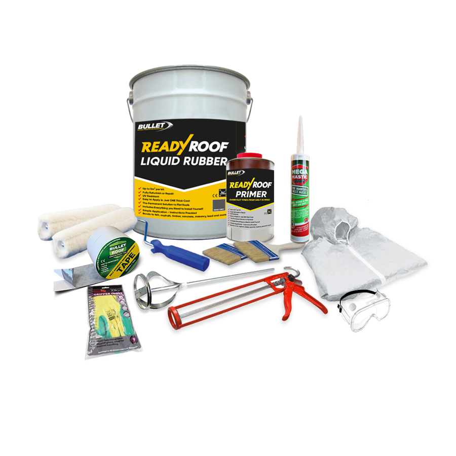 Ready Roof Liquid Rubber Roofing Kit Bullet Building